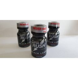 Rush black 10ml x3
